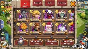 Castle Clash Pumpkin Duke Best Traits by How To Evolve Hero Castle Clash Youtube