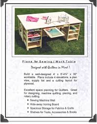 Sewing Cabinet Woodworking Plans by Inspiring Sewing Table Plans And Sewing Machineserger Tables And
