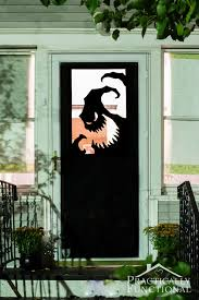 Home Decor Cool Outdoor Halloween Decorating Ideas Doorway Is An Easy Spot To Decorate Even
