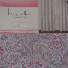 Nicole Miller Home Two Curtain Panels by Nicole Miller Kids Window Drapes Panels Set 40x63 Paisley Floral