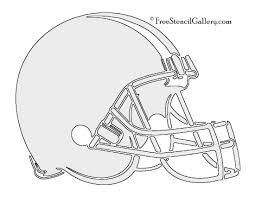 Steelers Pumpkin Carving Stencils Free by Nfl Cleveland Browns Stencil Free Stencil Gallery