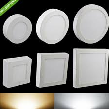 surface mounted led panel light kitchen ceiling lada 6w 12w 18w