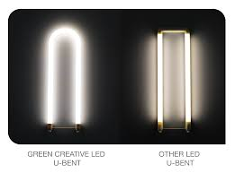 green creative releases direct and play t8 u bent dir led