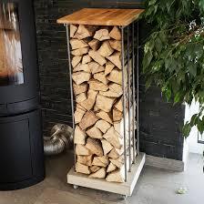 diy kaminholzregal selber bauen betonmöbel einfach selber