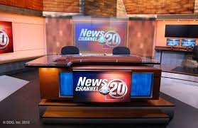 WICS TV Anchor Desk Main Background