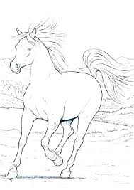 Realistic Horse Pictures To Color Head Coloring Pages Together With
