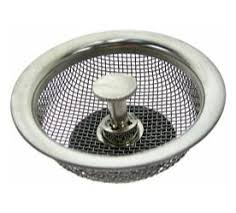 Mesh Sink Strainer With Stopper by 7 95 Plumb Craft 763931 Mesh Basket Strainer Free Shipping