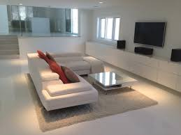 living room ideas with white leather sectional centerfieldbar com