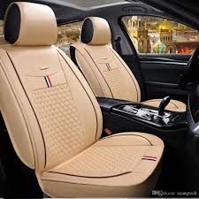 100 Truck Seat Cover Quality Leather Classic Auto SUV Sedan Van Racing