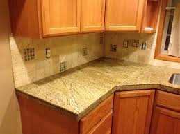 interestingtchen cabinets and tile backsplash also