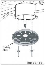 Hunter Ceiling Fan Hanging Bracket is ceiling box suitable for ceiling fan doityourself com