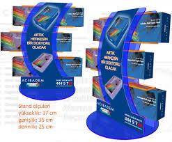 POSM Plastik Stand Tezgah Ustu Plastic Counter Display