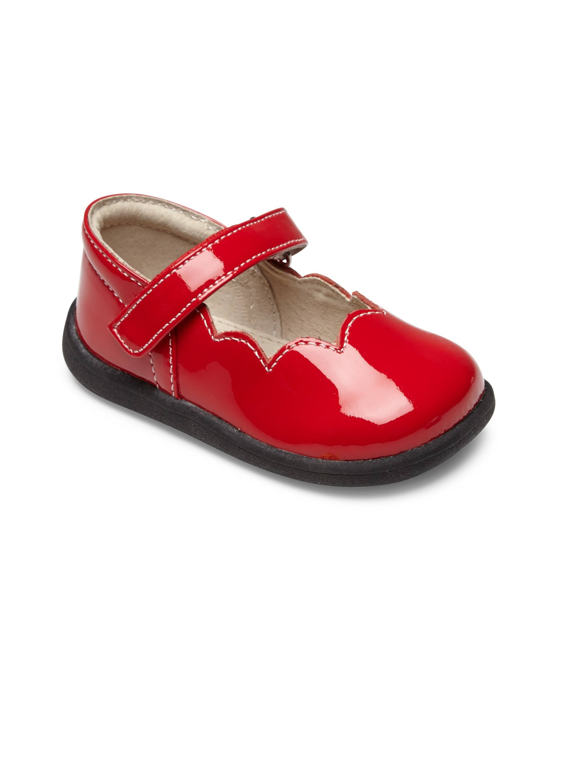 See Kai Run Baby's & Toddler's Scalloped Patent Leather Mary Janes - Red 9 (Toddler)