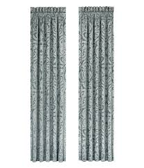 Nicole Miller Home Two Curtain Panels by J Queen New York Sicily Window Treatments Dillards