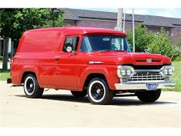 100 1960 Truck For Sale Ford Panel In Cadillac Michigan
