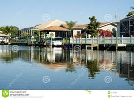 100 Boat Homes Water ReflectionTropical And Docks Stock Photo