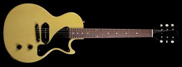 Gibson 1957 Les Paul Jr Single Cut VOS Gloss TV Yellow image