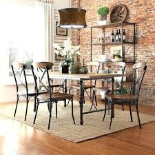 Industrial Dining Table And Chairs Rustic Room Lovable Modern Best Ideas About