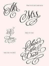 DIY Wedding Ideas With Adorn Fonts