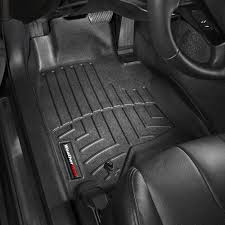 Infiniti G37 Floor Mats by Weathertech 441561 Digitalfit 1st Row Black Molded Floor Liners