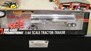 100 Diecast Promotions Trucks DCP 1 64th Wayne Transports Peterbilt 379 With Chrome Fuel
