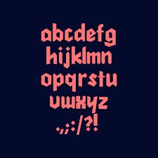 Garis Lengkung Color Font Color Fonts OpenTypeSVG Fonts Free