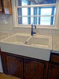 Ikea Double Faucet Trough Sink by Ikea Farmhouse Sink Review Sinks Kitchens And House