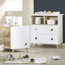 chambre bébé lit commode chambre bébé duo lit commode oslo bouton goutte de sauthon meubles