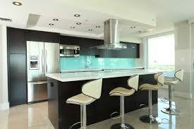 Glass Splashback Aqua In Kitchen By Metro