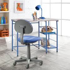 Mainstays Desk Chair Blue by Amazon Com Study Zone Ii Desk U0026 Chair Blue Kitchen U0026 Dining