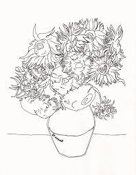 Lart à Colorier Van Gogh Les Cahiers Dactivités Pour Peindre
