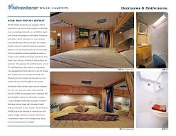 2010 ALP Adventurer Truck Campers Brochure | RV Brochures Download 2016 Alp Adventurer Truck Campers Brochure Rv Brochures Download Dazzling Home Built Camper Plans 6 The 216 Best Pick Up Images 2004 Other 104dss Gillette Wy East Side Rvs 2011 Slr Slrv Off Road Caravans And 4x4 Expedition Vehicles Motorhomes Now Instock 2009 2018 Eagle Cap 811 Apex Nc Rvtradercom Architectural Home Plans Built Small Pickup Slide In Camper Pickup Trucks Of Earthcruiser Announces Gzl Pop Meet Leentu The 150pound Popup