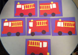 99 Truck Craft Fire Pattern For Preschoolers Preschool Fire Truck Craft