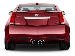 Image 2012 Cadillac CTS V Coupe 2 door Coupe Rear Exterior View