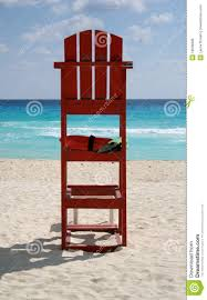 Beach Lifeguard Chair Plans by Lifeguard Chair Stock Photo Image 19696990
