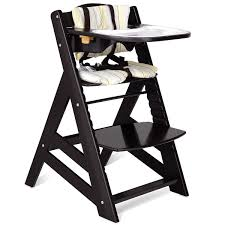 Costway Baby Toddler Wooden Highchair Dining Chair Adjustable Height W/  Removeable Tray - Dark Brown Folding Baby High Chair Convertible Play Table Seat Booster Toddler Feeding Tray Wheel Portable Infant Safe Highchair 12 Best Highchairs The Ipdent Amazoncom Duwx Foldable Height Adjustable Best Travel In 2019 Buyers Guide And Reviews Detachable Ding Playset For Reborn Doll Mellchan Dolls Accsories Springbuds Newber Toddlers Recling With Oztrail High Chair Stool Camp Pnic Eating Food Kidi Jimi Wooden Toddler High Chair Top 10 Chairs Babies Heavycom Costway Recline
