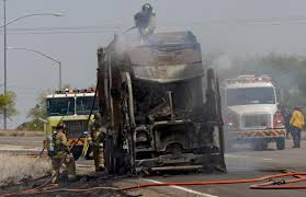 100 Garbage Truck Movies Truck Fire Spreads To Brush Along I10 Local News Tucsoncom