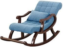 jiajuyi garten massivholz schaukelstuhl wohnzimmer single