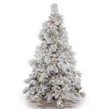 8 Ft Black Artificial Christmas Tree by Garden White Artificial Christmas Trees Vickerman Pre Lit Flocked