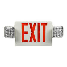 emergency exit sign lighting led exit only signs e conolight