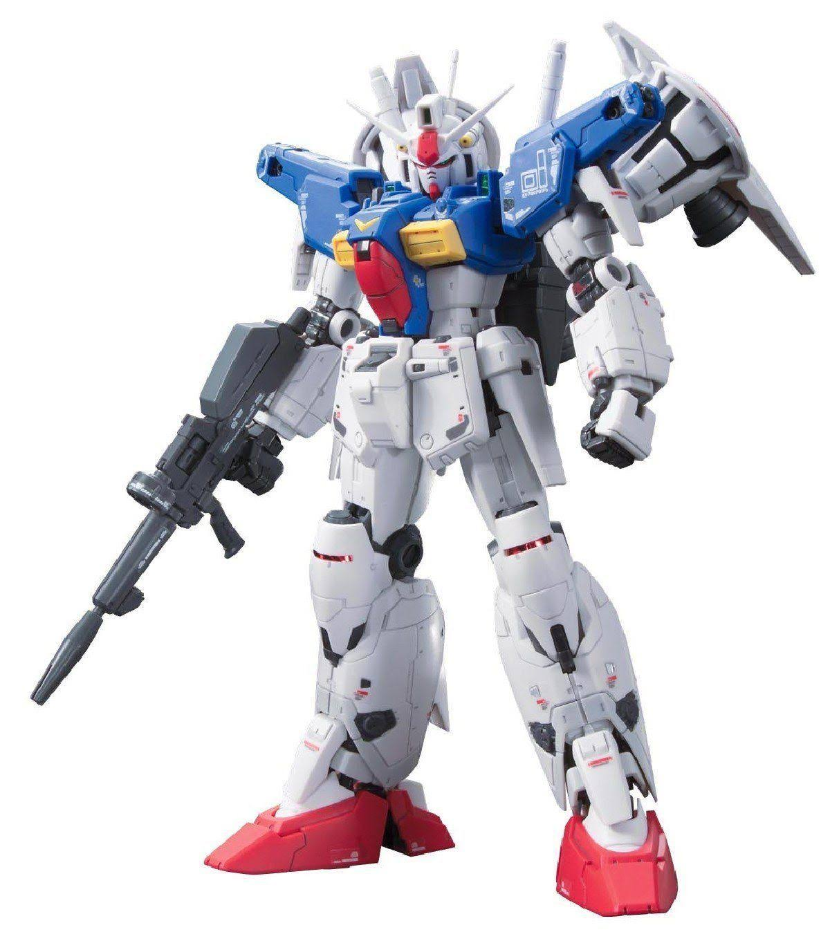 Bandai Hobby Real Gundam Full Burnern Action Figure Model Kit - 1:144 Scale
