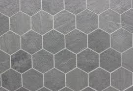 interior design white hexagon mosaic tile black and white
