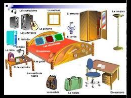 Spanish Vocabulary The Bedroom