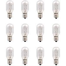 decolighting 6 pack of light bulb e12 base t20 for salt l 15w