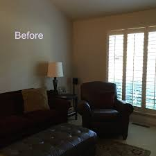 Living Room Makeovers Before And After Pictures by Blue U0026 White Personalized Living Room Makeover Before After
