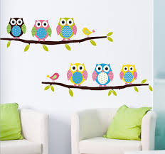 Owl Bedroom Wall Stickers by Cute Owl On Tree Decal To Easily Quickly And Cheaply Transform