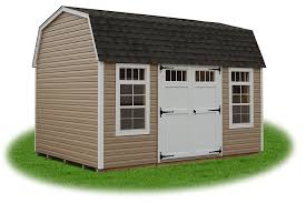 10x12 Gambrel Storage Shed Plans by Free Gambrel Roof Shed Plans 12x16
