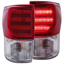 anzo usa toyota tundra 07 13 l e d lights clear g2
