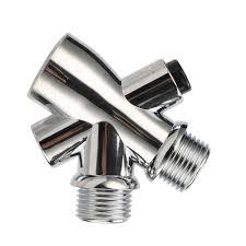 dusche kopf wasser splitter wasser separator adapter 1 2 männlichen outlet weibliche einlass 3 weg kunststoff umsteller badezimmer armaturen 1 pc
