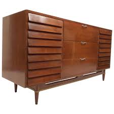 American Of Martinsville Dining Room Furniture by Mid Century Modern Walnut Dresser By American Of Martinsville